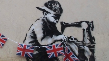 Banksy's Olympic Images