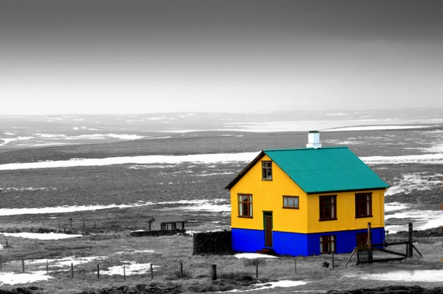 Iceland: Color Against the Gray