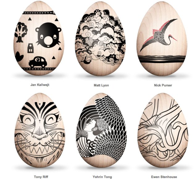Inspiration: Tattooed eggs