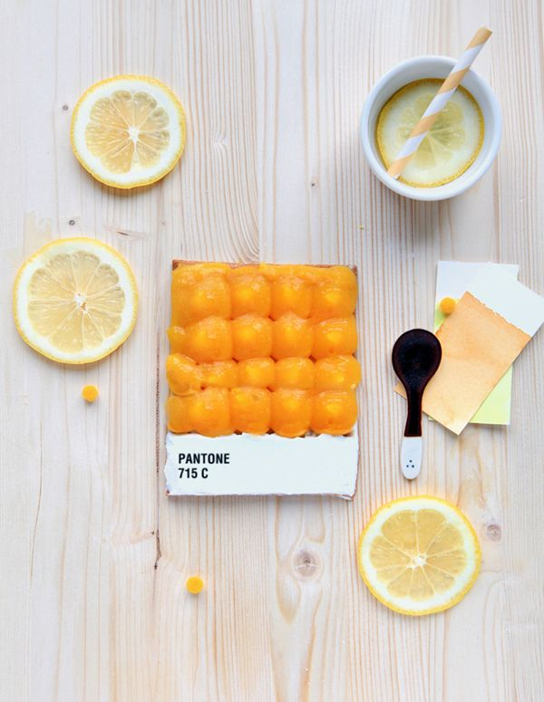 The Art of a Pantone Food Swatch