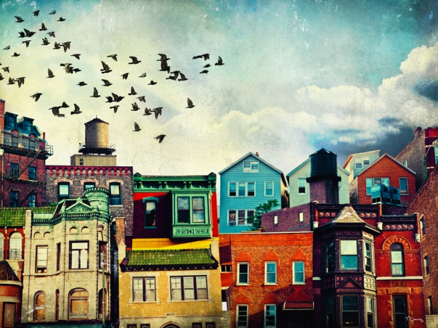 Tim Jarosz: Color Blocked Cityscapes