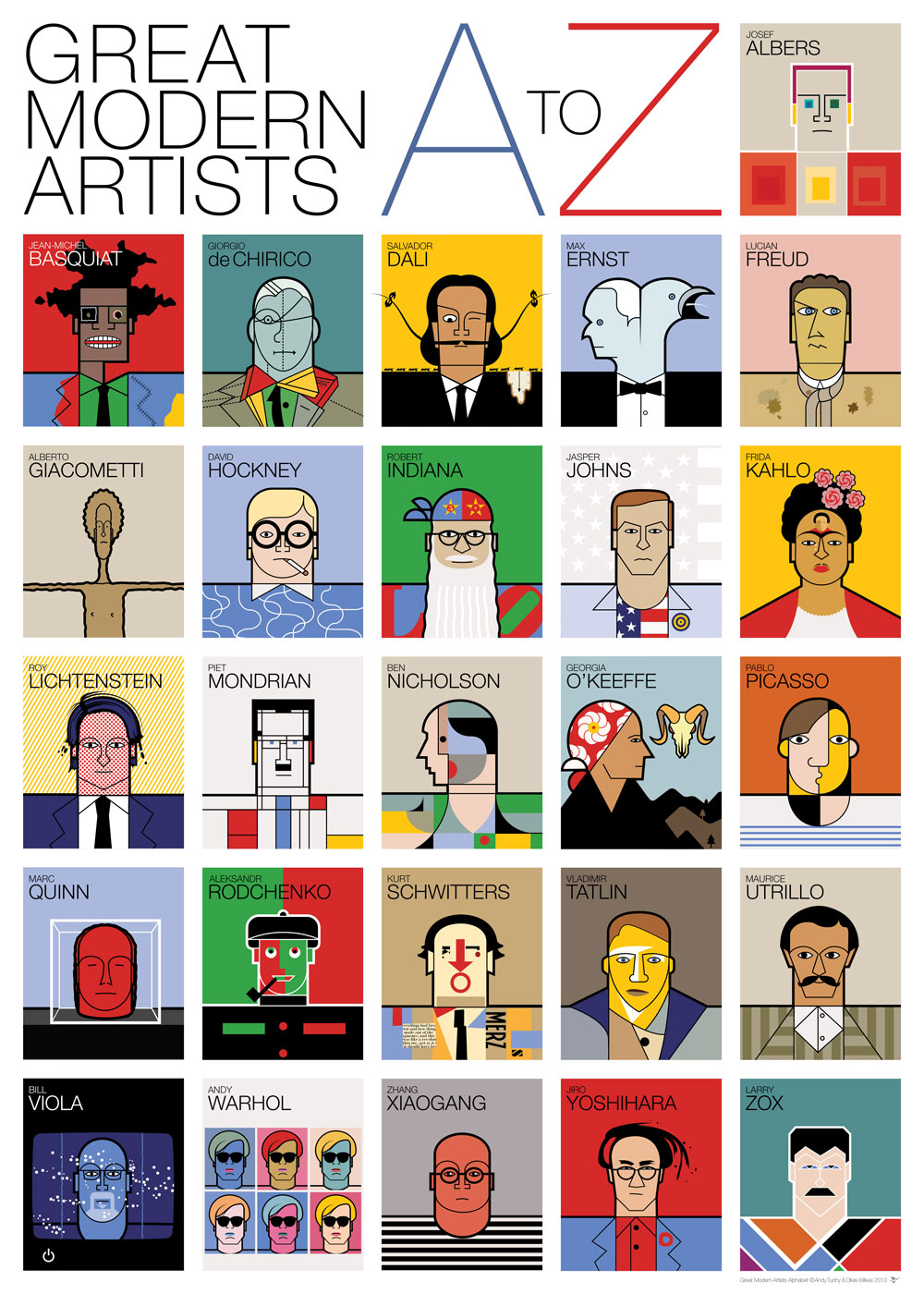 andy-tuohy-a-z-of-great-modern-artists