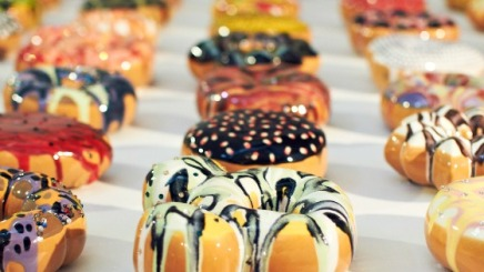 Donut Rush:  Baking with Swarovski crystals