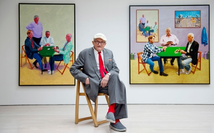 David Hockney major retrospective planned