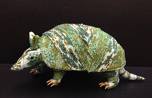 taxidermied-armadillo