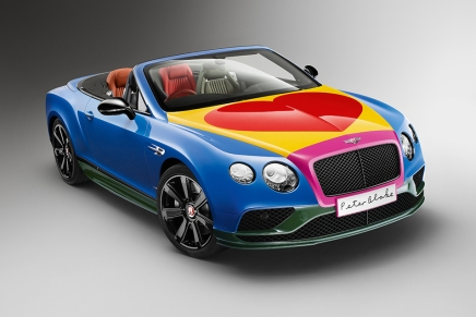 The Pop Art Bentley